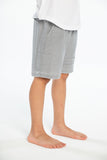 Cozy Knit Cargo Shorts w/ Strappings