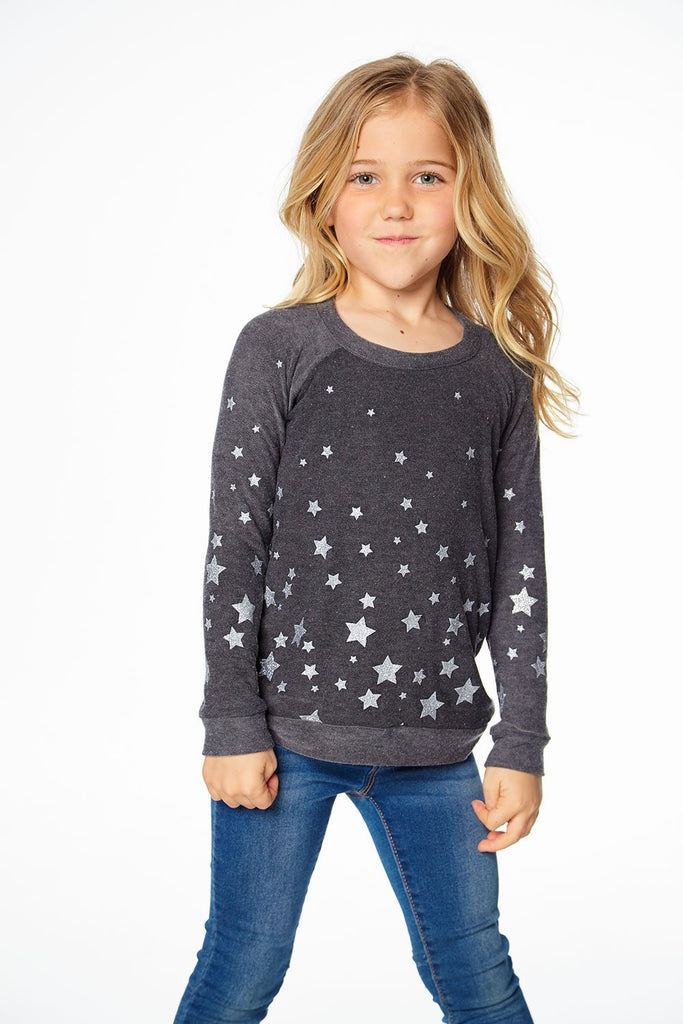 Starry Night Cozy Knit Long Sleeve