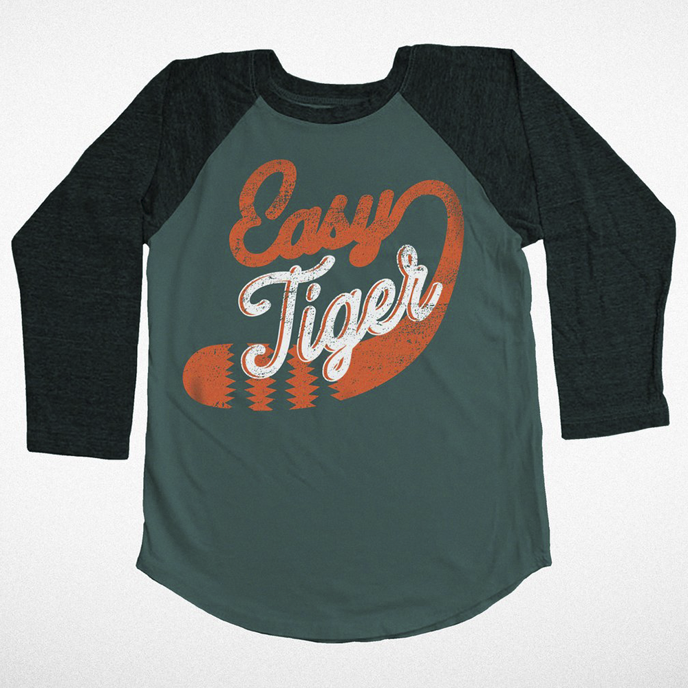 Easy Tiger Raglan Tee
