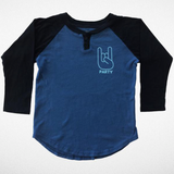 Like It's 1999 Raglan Henley Tee