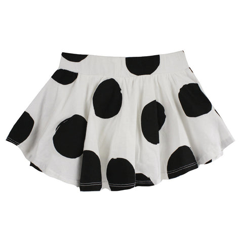 Lyric Dot Print Skort