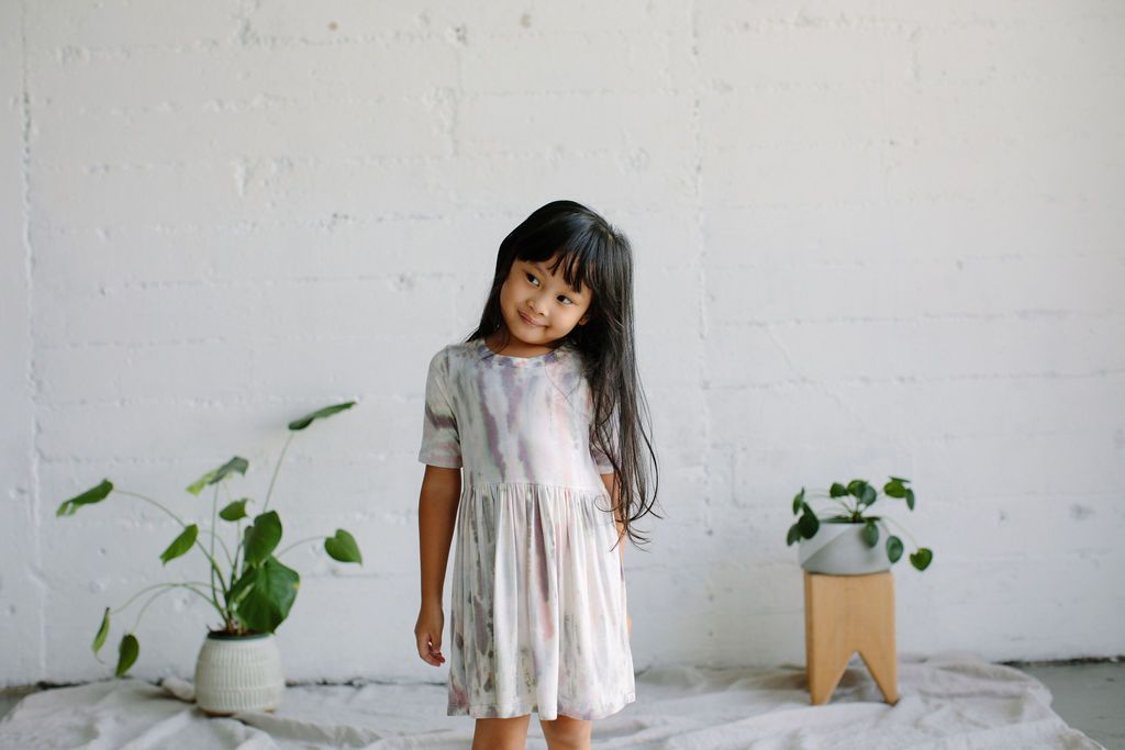 Megan Dress in Dahlia