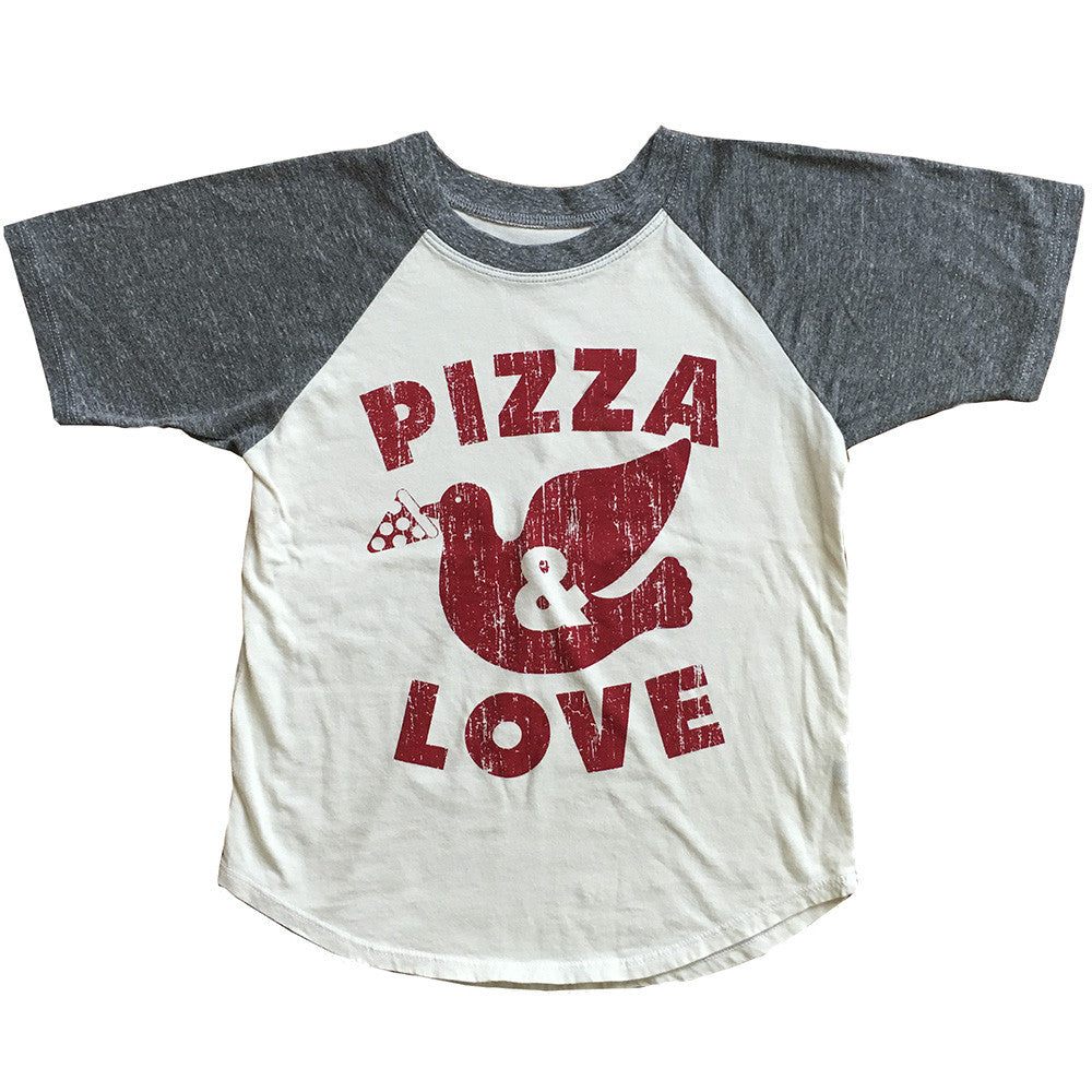 Pizza & Love Raglan Tee