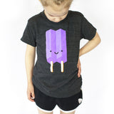 Kawaii Ice Pop Tee - Purple