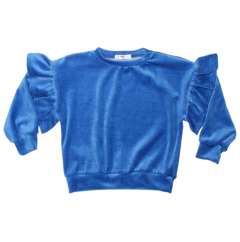 Rayne Girls Ruffle Sweatshirt