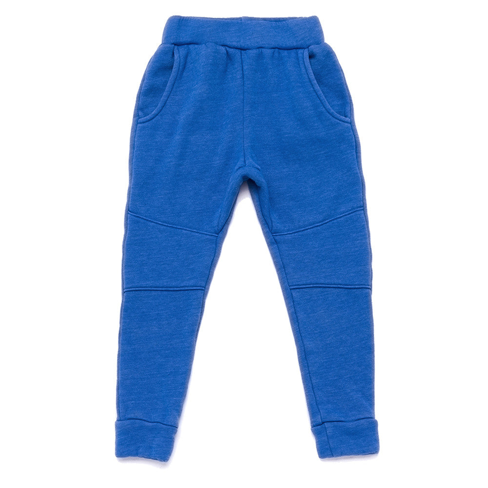 Jogger Sweatpants w/ Knee Patch