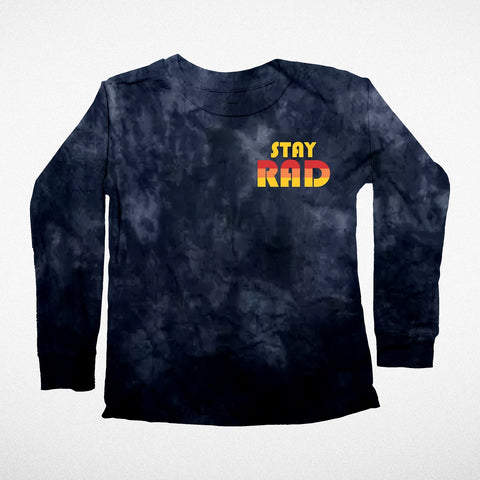 """Stay Rad"" Long Sleeve Tee"