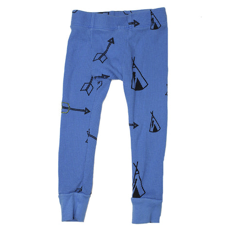 Teepee & Arrows Print Thermal Pants