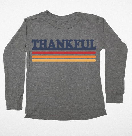 Tiny Whales Thankful LS Tee