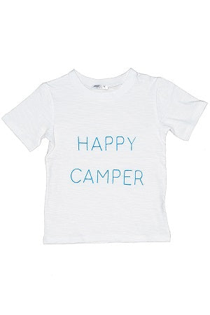 Ziggy Happy Camper Embroidered Tee