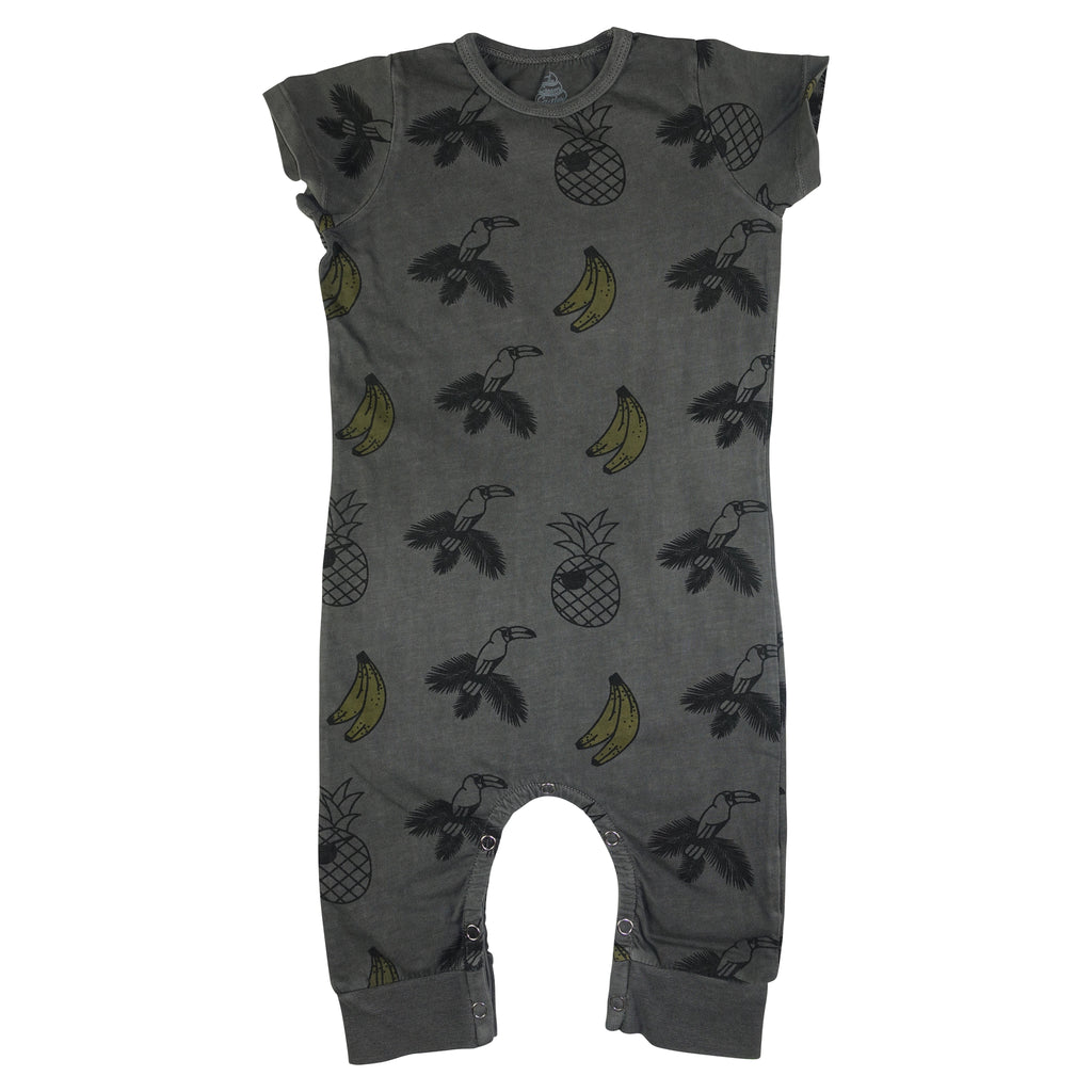 Banana & Bird Romper