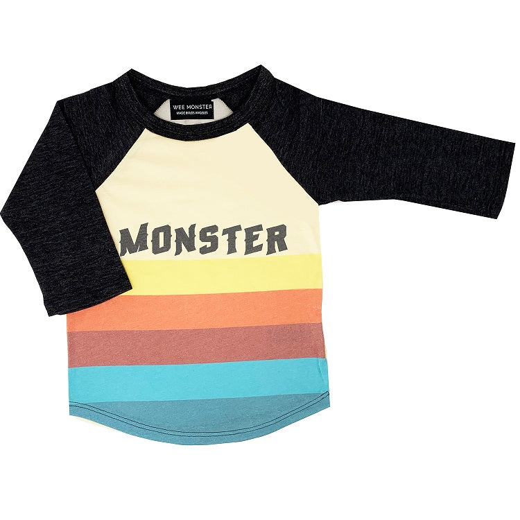 Monster Raglan Tee