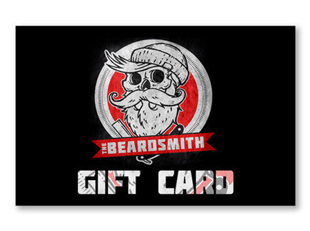 Gift Card (redeemable ONLY at The Beardsmith® Barbershop in Boise)