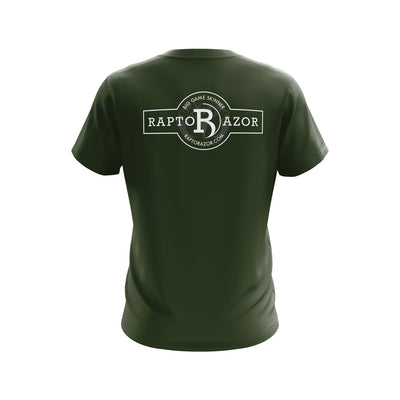Short Sleeve Logo Shirt - Military Green