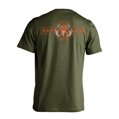 Short Sleeve Super Claw Shirt - Military Green