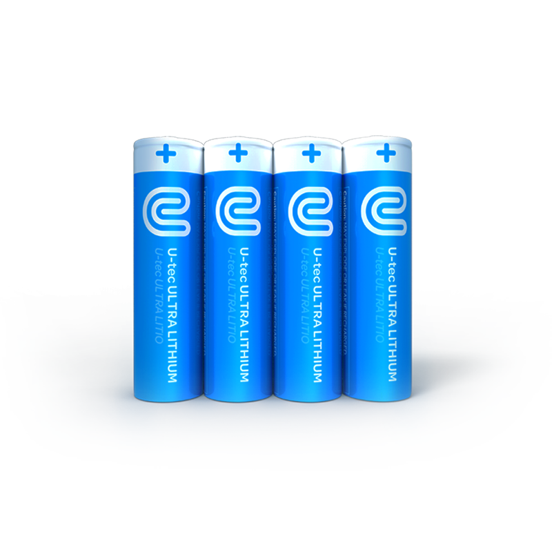 U-tec AA Ultra Lithium Batteries (Single Use)