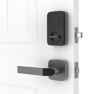 Ultraloq Combo Bluetooth Enabled Fingerprint & Key Fob Two-Point Smart Lock
