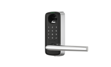 Load image into Gallery viewer, Ultraloq Lever Bluetooth Enabled Fingerprint and Touchscreen Smart Lever Lock