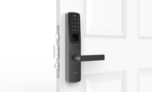 Load image into Gallery viewer, Ultraloq UL300 Bluetooth Enabled, Fingerprint, Touchscreen and Key Fob Multi-Point Smart Lock + Ultraloq Bridge WiFi Adaptor
