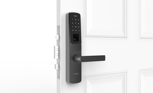 Ultraloq UL300 Bluetooth Enabled, Fingerprint, Touchscreen and Key Fob Multi-Point Smart Lock + Ultraloq Bridge WiFi Adaptor
