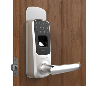 Ultraloq UL3 BT (2nd Gen) Bluetooth Enabled Fingerprint and Touchscreen Smart Lever Lock