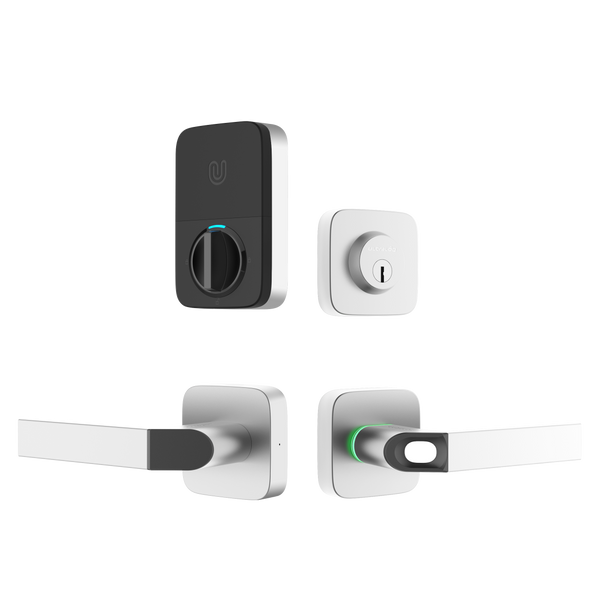 Ultraloq Combo Bluetooth Enabled Fingerprint & Key Fob Two-Point Smart Lock (Reseller price: $256 w/o Bridge, $277 w/ Bridge. MAP: $349 w/o Bridge, $379 w/ Bridge. US shipping cost included)