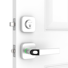 Load image into Gallery viewer, Ultraloq Combo Bluetooth Enabled Fingerprint & Key Fob Two-Point Smart Lock