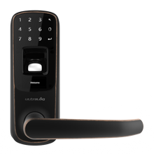 Load image into Gallery viewer, Ultraloq UL3 BT (2nd Gen) Bluetooth Enabled Fingerprint and Touchscreen Smart Lever Lock