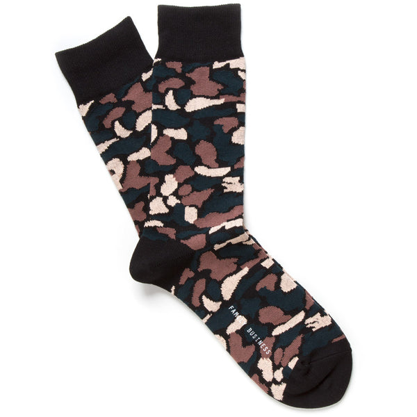 Vintage Camouflage Socks - Contra
