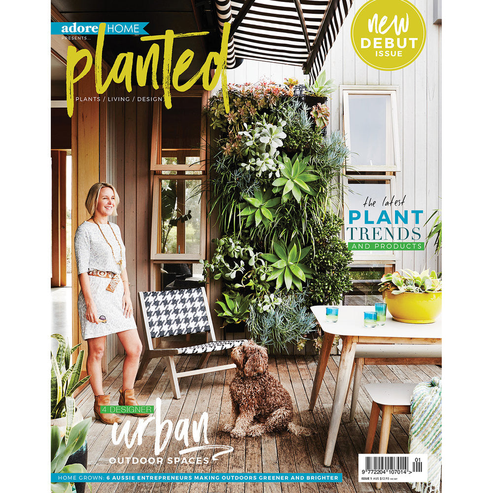 On the cover of Adore Home's Planted magazine