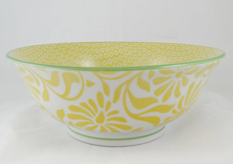 Hida Serving Bowl Yellow - the source