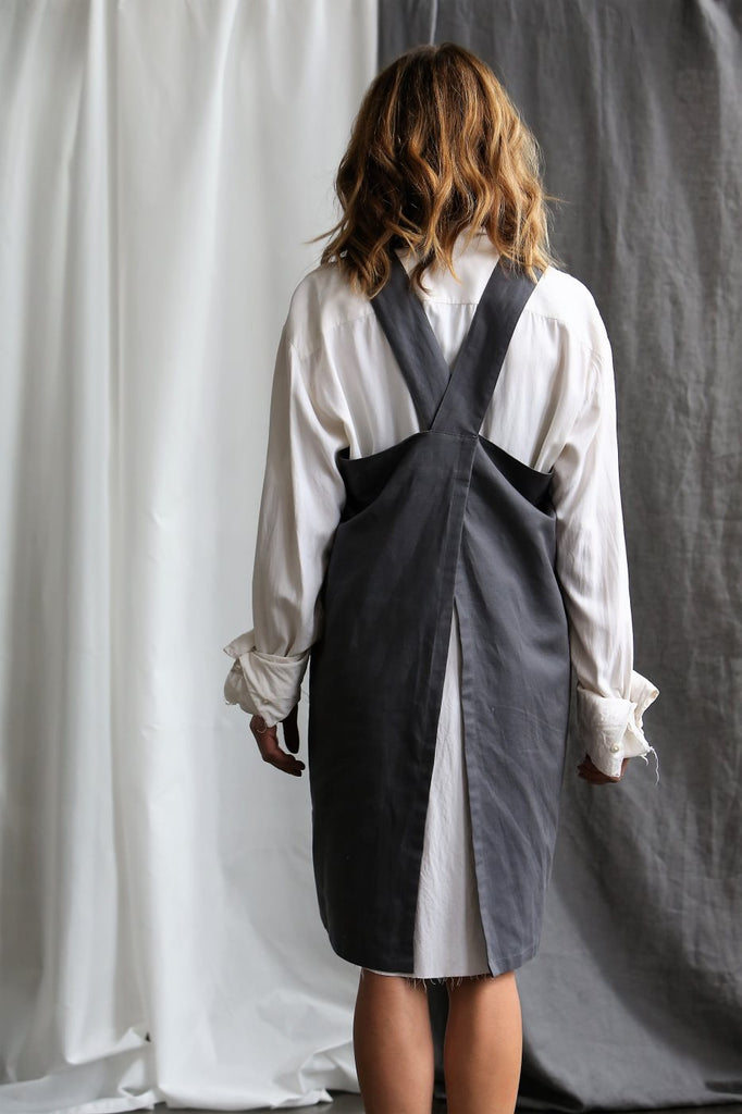 Apron Smock - Smoke - the source