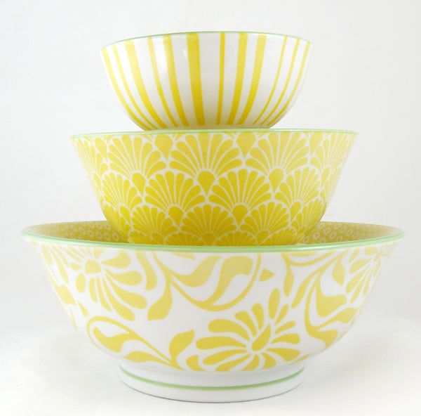 Hida Medium Bowl Yellow - the source