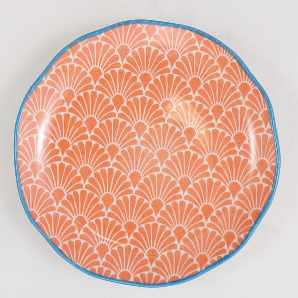 Hida Small Plate Orange - the source