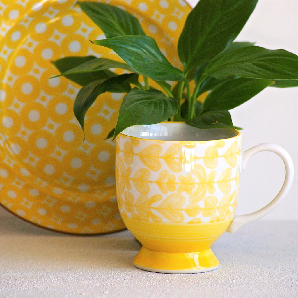Elements Mug - Yellow - the source