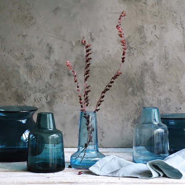 Cone Vase - Blue - the source