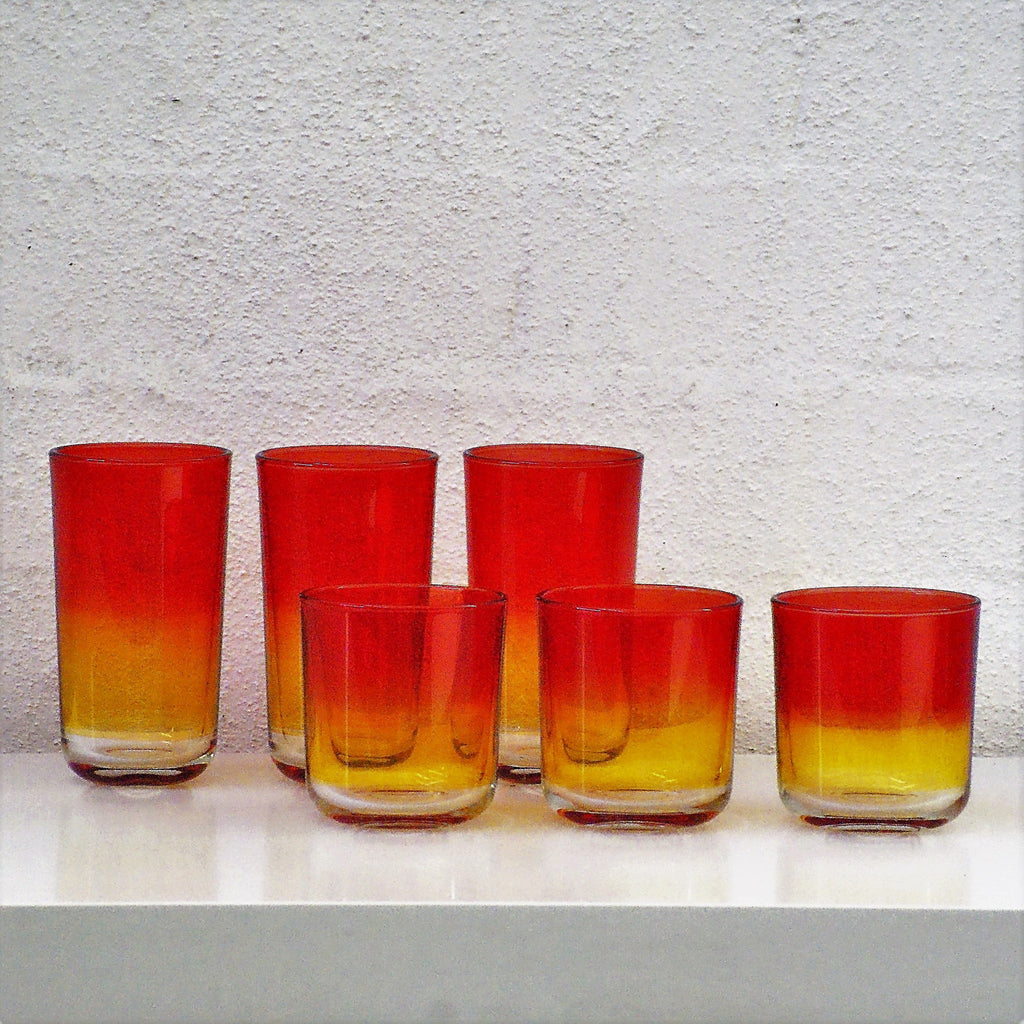 Clio Glass -  Red/Orange S - the source