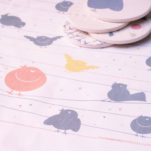 Tea Towel - Birdy - the source