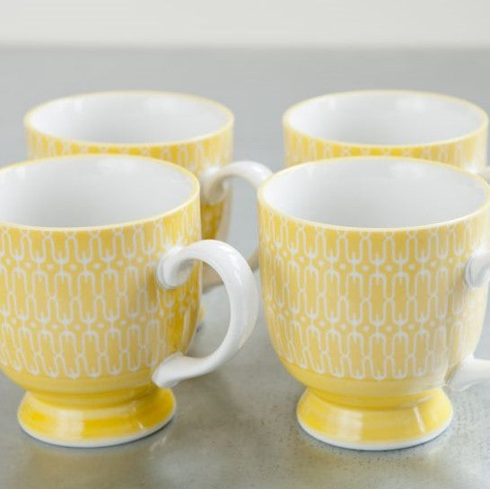 Elements Diner Mug - Yellow - the source