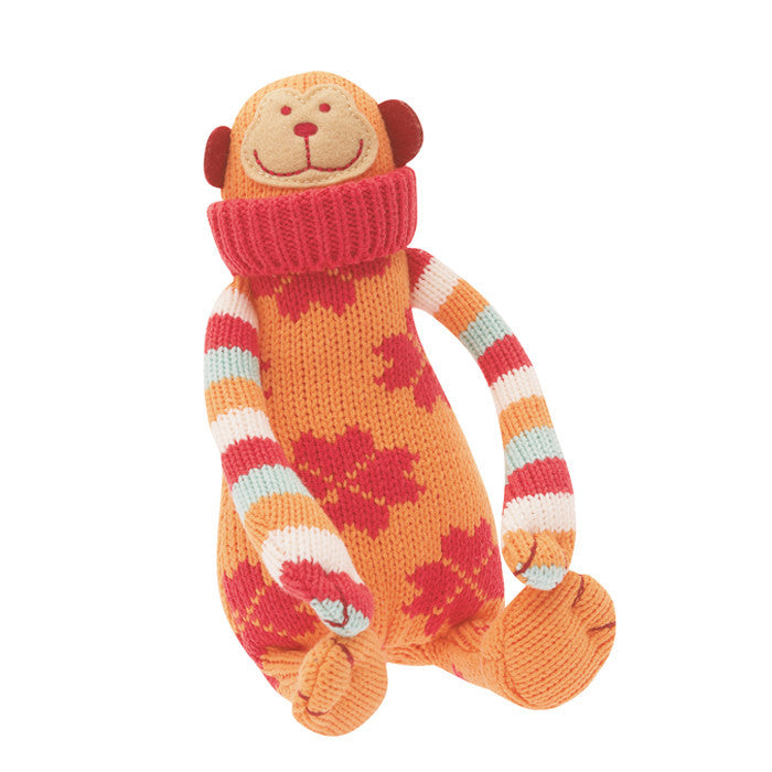 Grannies knitted Monkey - the source