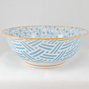 Hida Serving Bowl Blue - the source