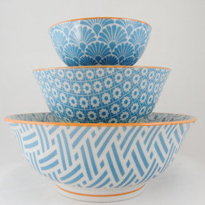 Hida Bowl Medium - Blue - the source