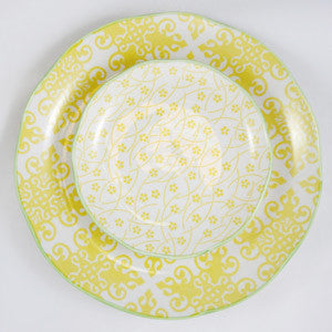 Hida Serving Plate Yellow - the source