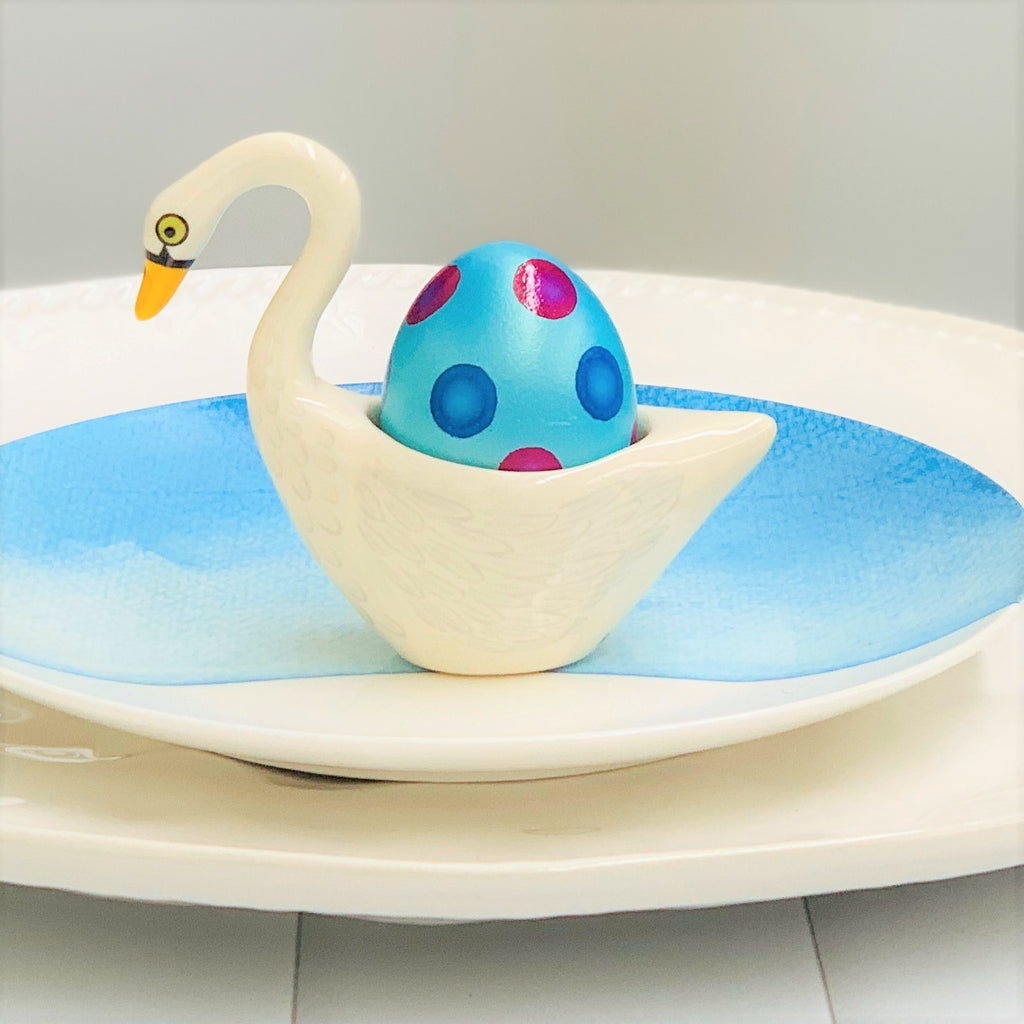 Egg Cup Swan - White - the source
