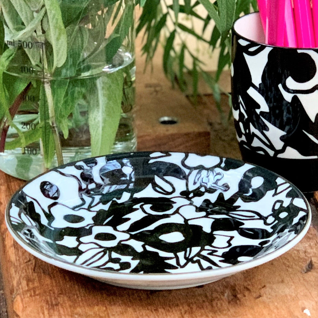 Mono Side Plate - Flower - the source