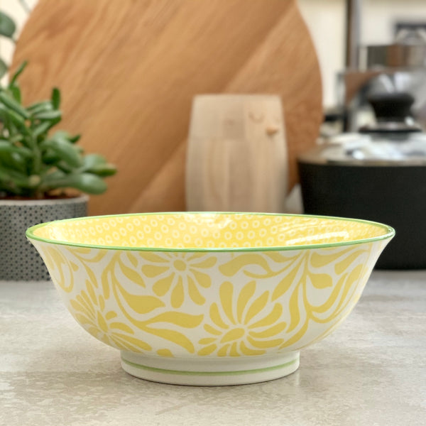 Hida Bowl Large - Yellow - the source