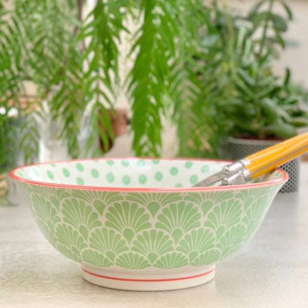 Hida Bowl Large - Green - the source