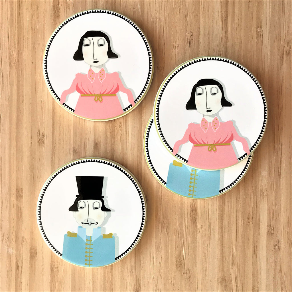 Coasters - Mr & Mrs - the source