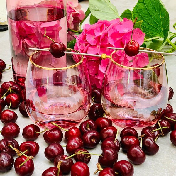 Lustre Tumblers - Plum/2 - the source