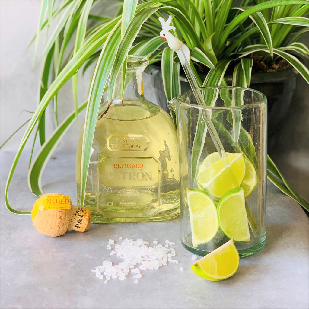 Recycled Glass Jug - L - the source